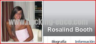 Rosalind Booth - Perfil falso