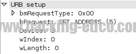 USB Forensic - Set Address
