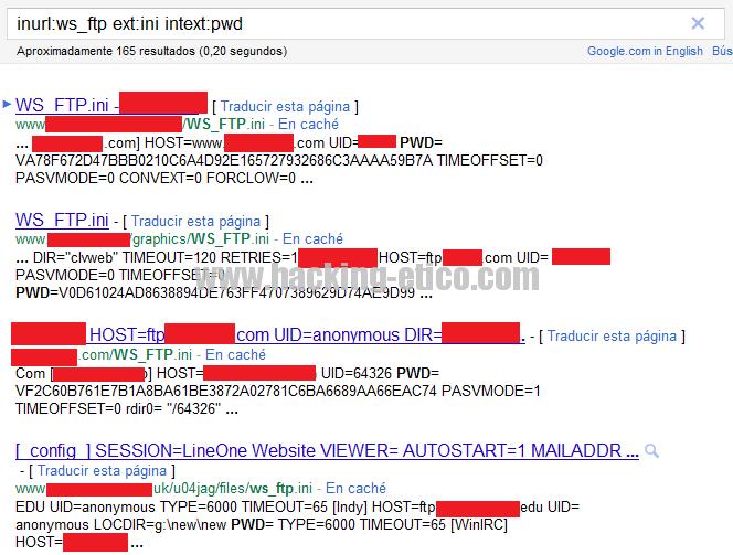 SE Hacking Ético: Google Hacking