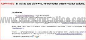 Navegación segura con Google Safe Browsing
