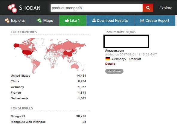 Ransomware en MongoDB